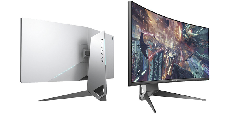 alienware aw3418dw front and back