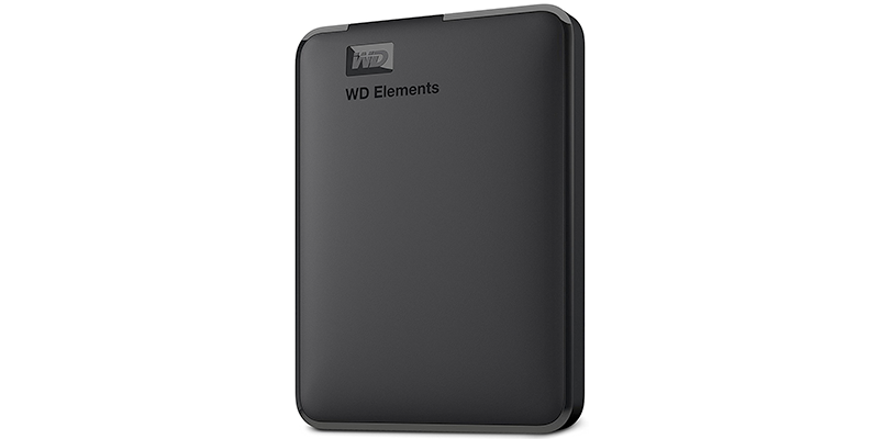 western digital elements hard drive