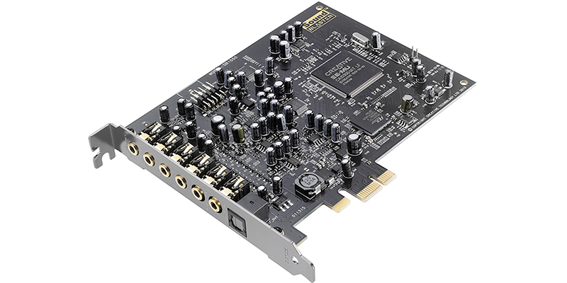 creative sound blaster audigy pcie rx 7 1