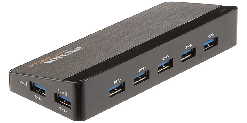 amazonbasics 7 port usb 3 0 hub