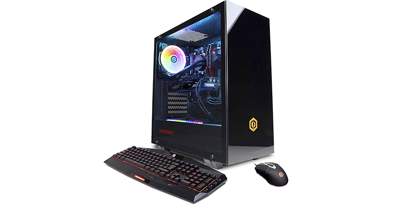 cyberpowerpc gamer supreme liquid cool slc10200cpg