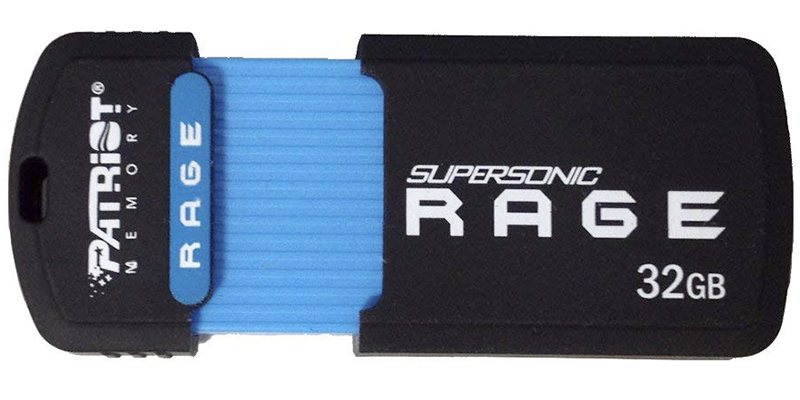 patriot supersonic rage flash drive
