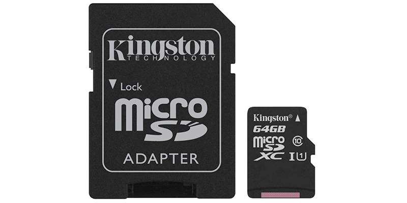 kingston canvas select microsdhc