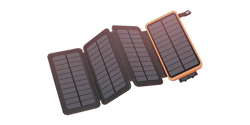 hiluckey solar charger 25000mah