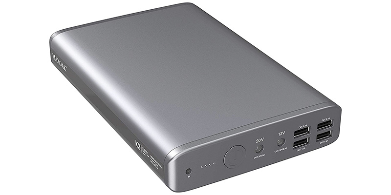 maxoak 50000mah 185wh laptop power bank