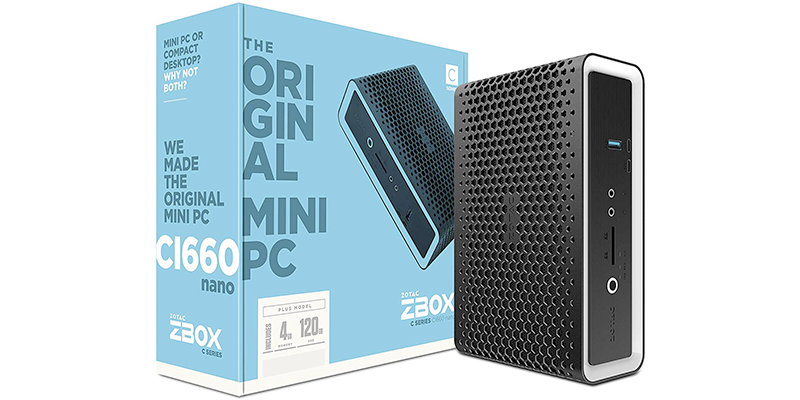 zotac zbox ci660 nano plus silent mini pc