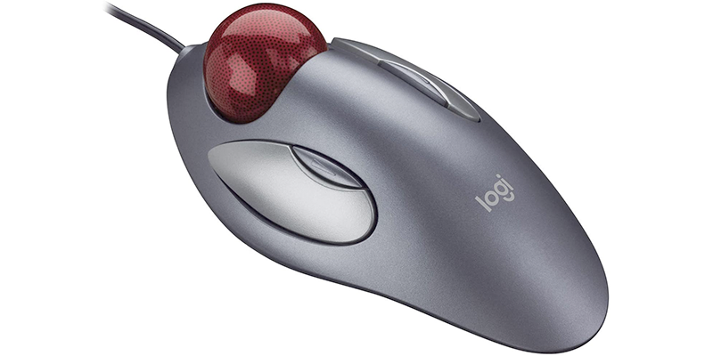 logitech trackman marble trackball mouse