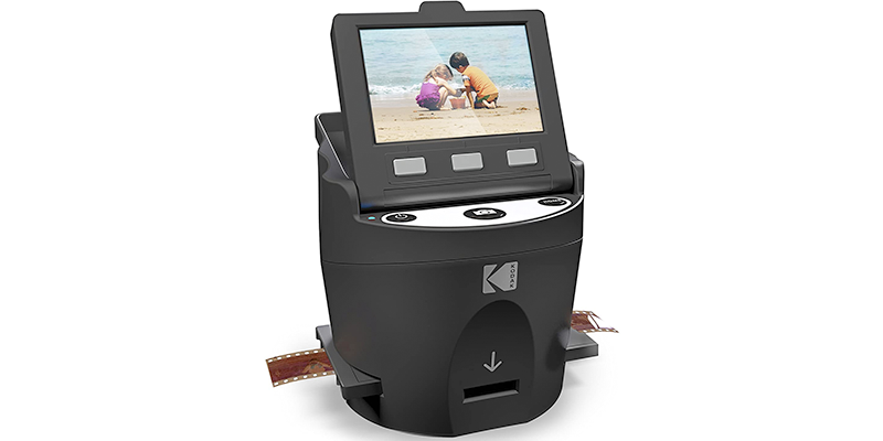 kodak scanza digital film slide scanner