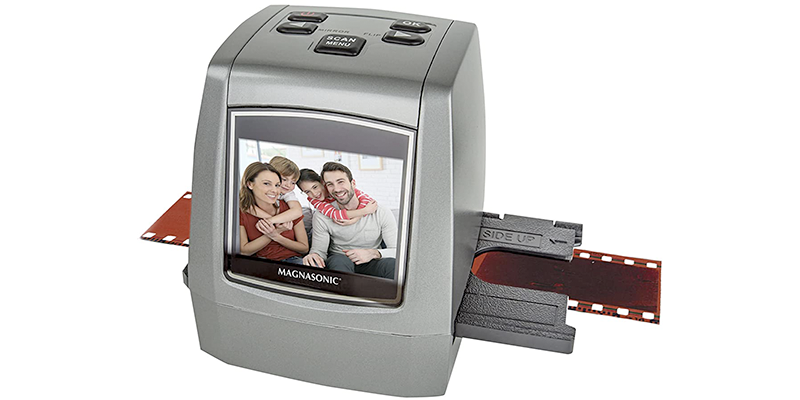 magnasonic all-in-one high-resolution 22mp film scanner